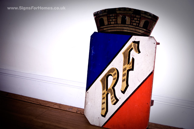 Flag Shield from France RF