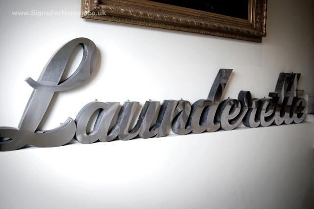 Launderette SIgn
