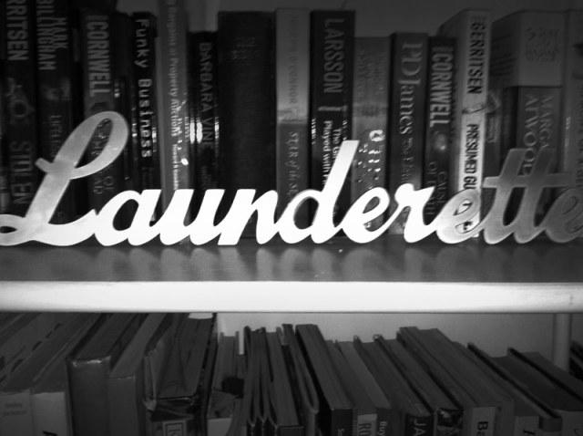 Vintage Launderette Sign