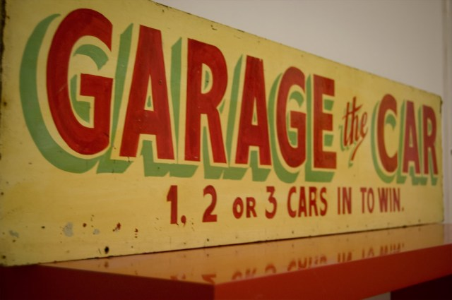 British Fairground Sign