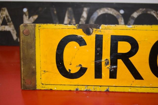 London Underground Signage
