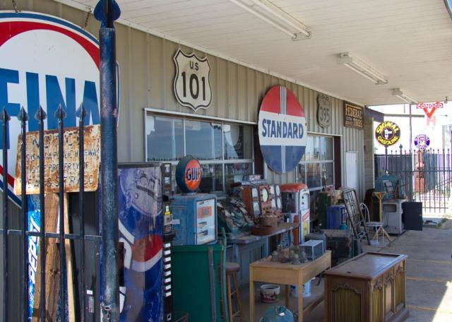 Vintage Signs at Kramer Junction, California