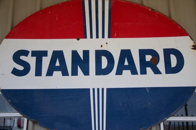 Vintage Standard Petrol Sign
