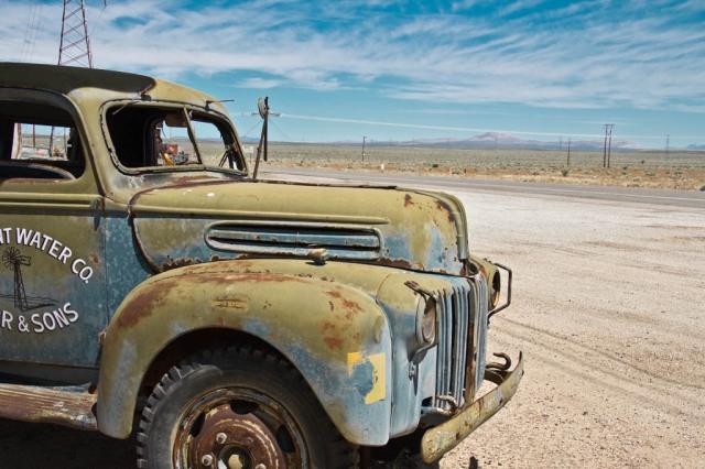 Old Car at Kramer Junction