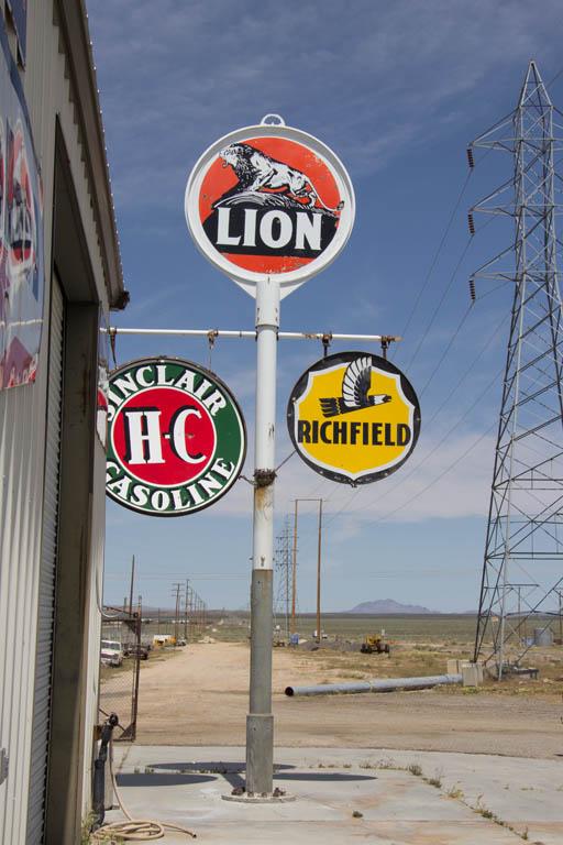 Vintage Petrol Signs