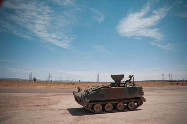 Tank at Kramer Junction
